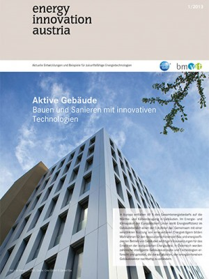 energy innovation austria - Cover 1/2013