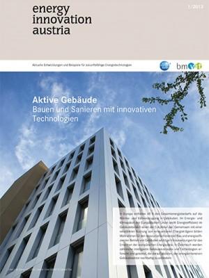 energy innovation austria - Cover 1/2013