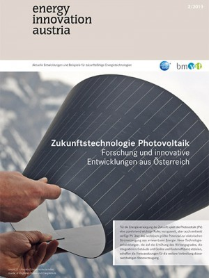energy innovation austria - Cover 2/2013