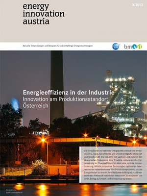 energy innovation austria - Cover 3/2013