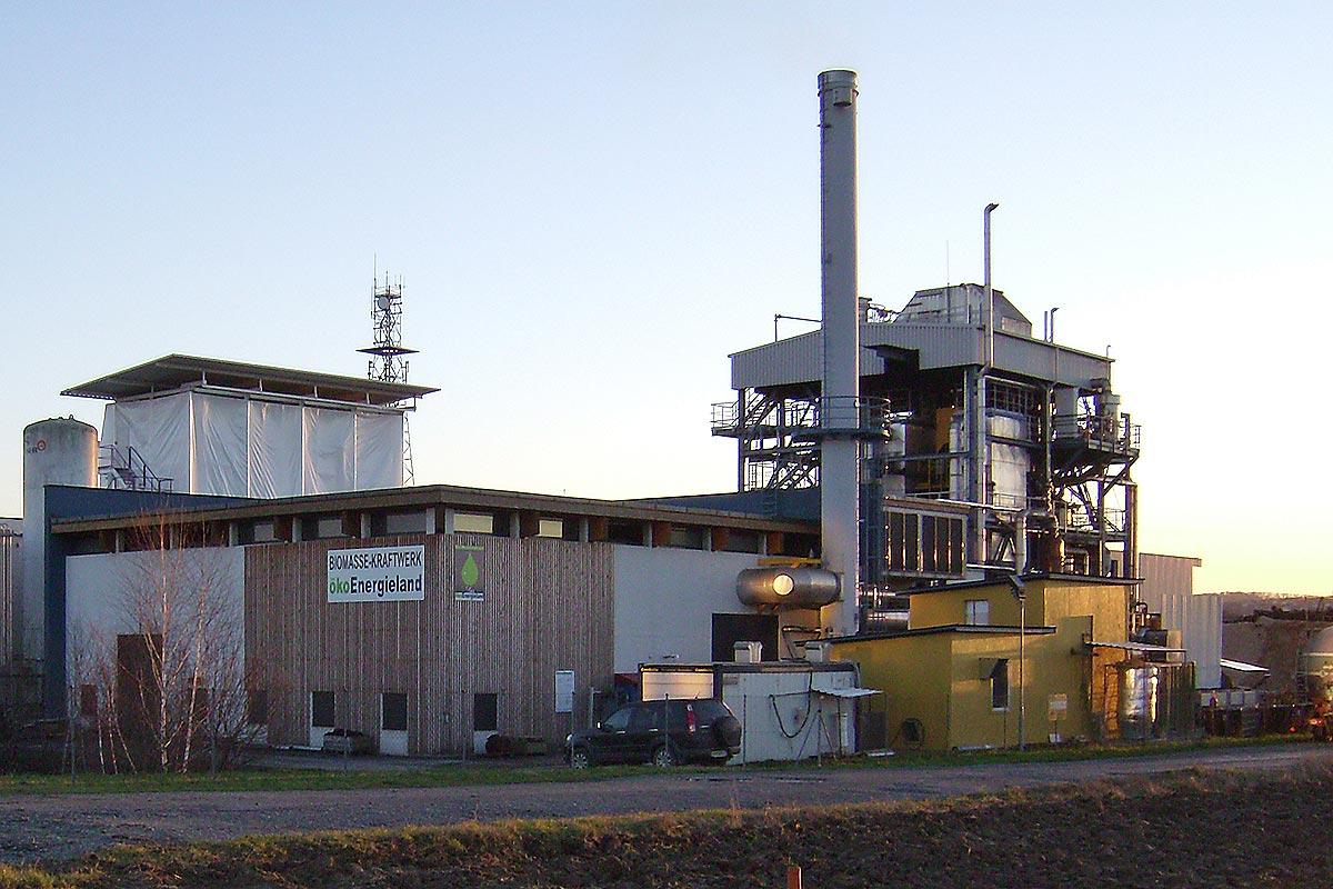 Biomassekraftwerk Güssing Quelle: EEE Europäisches Zentrum für Erneuerbare Energie