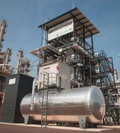 BioCRACK-Pilotanlage OMV Raffinerie Schwechat, Quelle: OMV