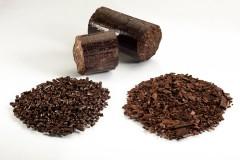 Torrifizierte Biomasse, Quelle: Andritz AG