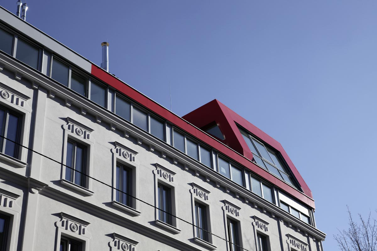 Wißgrillgasse Wien, Dachbodenausbau, Quelle: Ulreich Bauträger GmbH