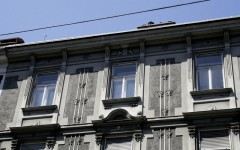 Gründerzeitbebäude mit Mischnutzung Radetzkystraße (1840 / Fassadengestaltung 1900), Foto: TU Graz, IWT