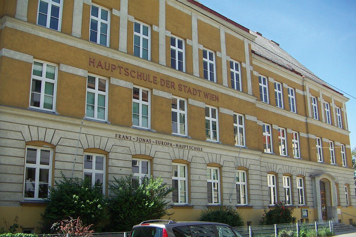 Franz Jonas Europaschule Wien, Quelle: Wikimedia