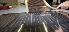 flexibles Solarmodul ISOVOLTAIC, Quelle: Klima- und Energiefonds / Ringhofer