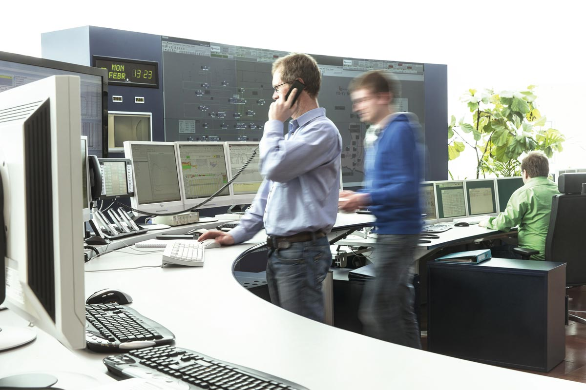 Load dispatching center, Salzburg AG; Photo: Andreas Hechenberger