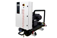 Standard-Industriewärmepumpe (Wasser) / zweistufiger Kreisprozess, Quelle: Ochsner Wärmepumpen GmbH