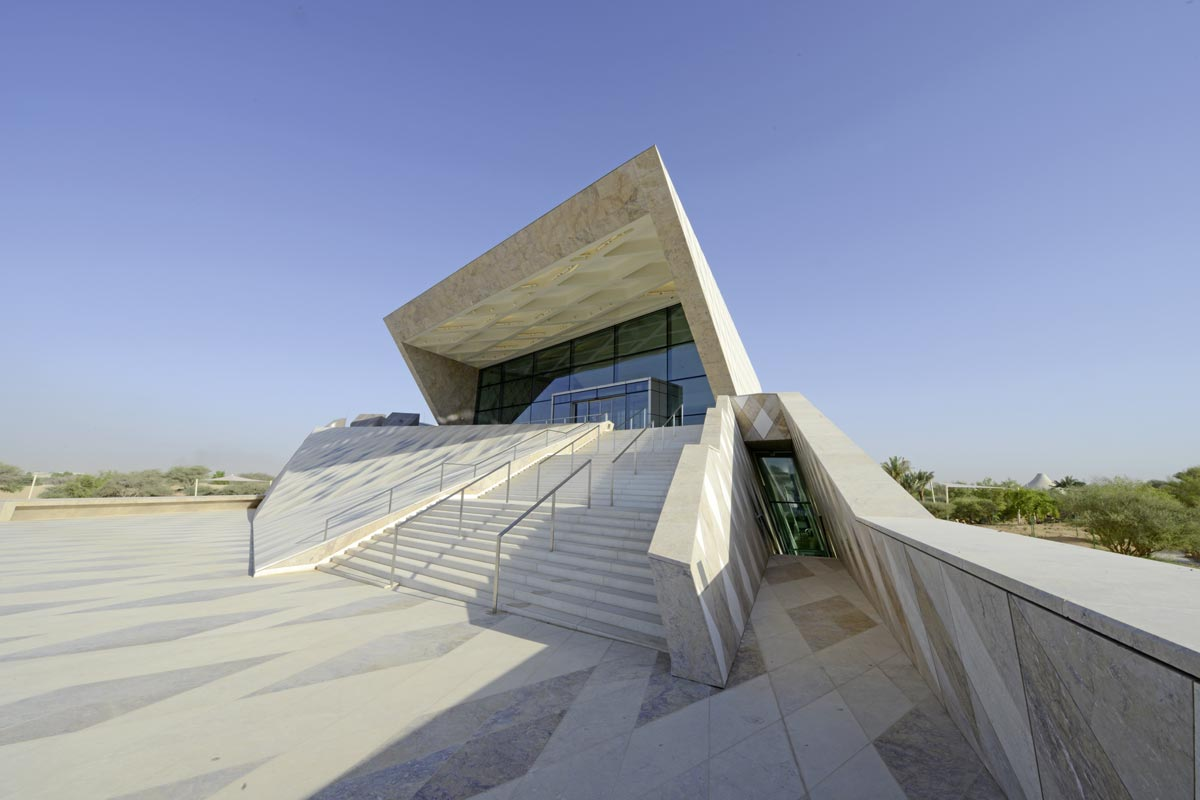 Sheikh Zayed Desert Learning Center Foto : Chalabi Architekten & Partner