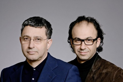 Chalabi Architekten & Partner Talik und Jaafar Chalabi v.l.n.r.