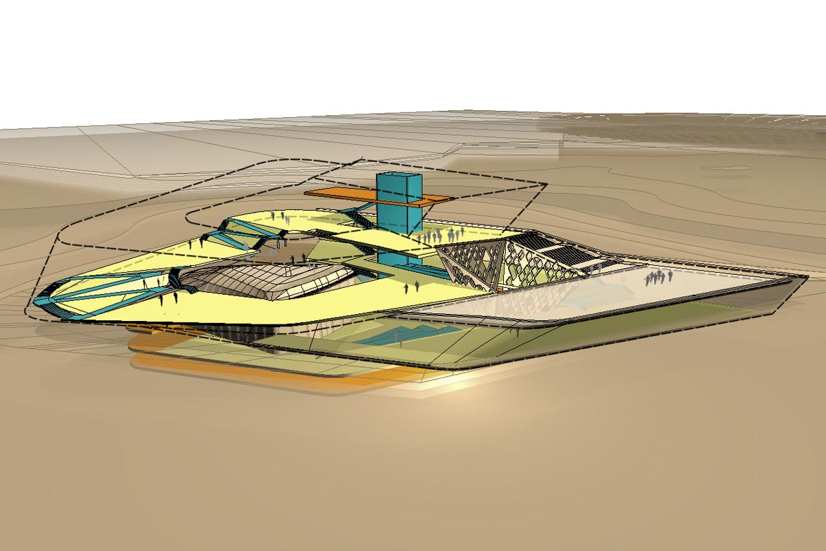 Illustration Sheikh Zayed Desert Learning Center