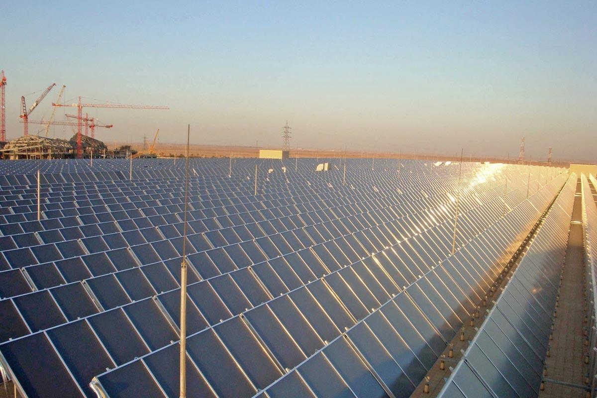 Kollektorfeld, Foto: Millennium Energy Industries