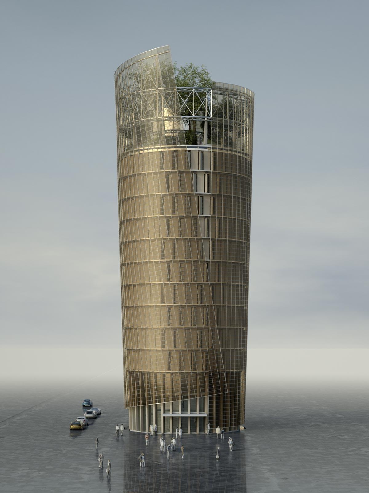 Science Tower, Quelle: Markus pernthaler Architekten zt gmbh