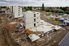 Bauphasen Plusenergieverbund Reininghaus Süd, Quelle: DI Martin Grabner, ECR Team, TU Graz, Institut für Städtebau