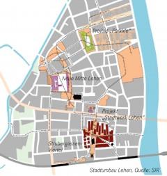 Stadtumbau Lehen, Quelle: SIR