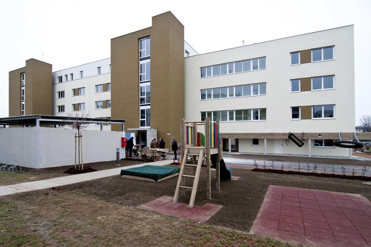 Zentrum Living Lab, Leopold Hrazdil Straße, Quelle: Meine Heimat