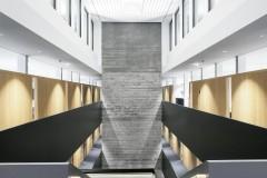 Officebeleuchtung mit LED i+R Gruppe Lauterach, Foto: Zumtobel