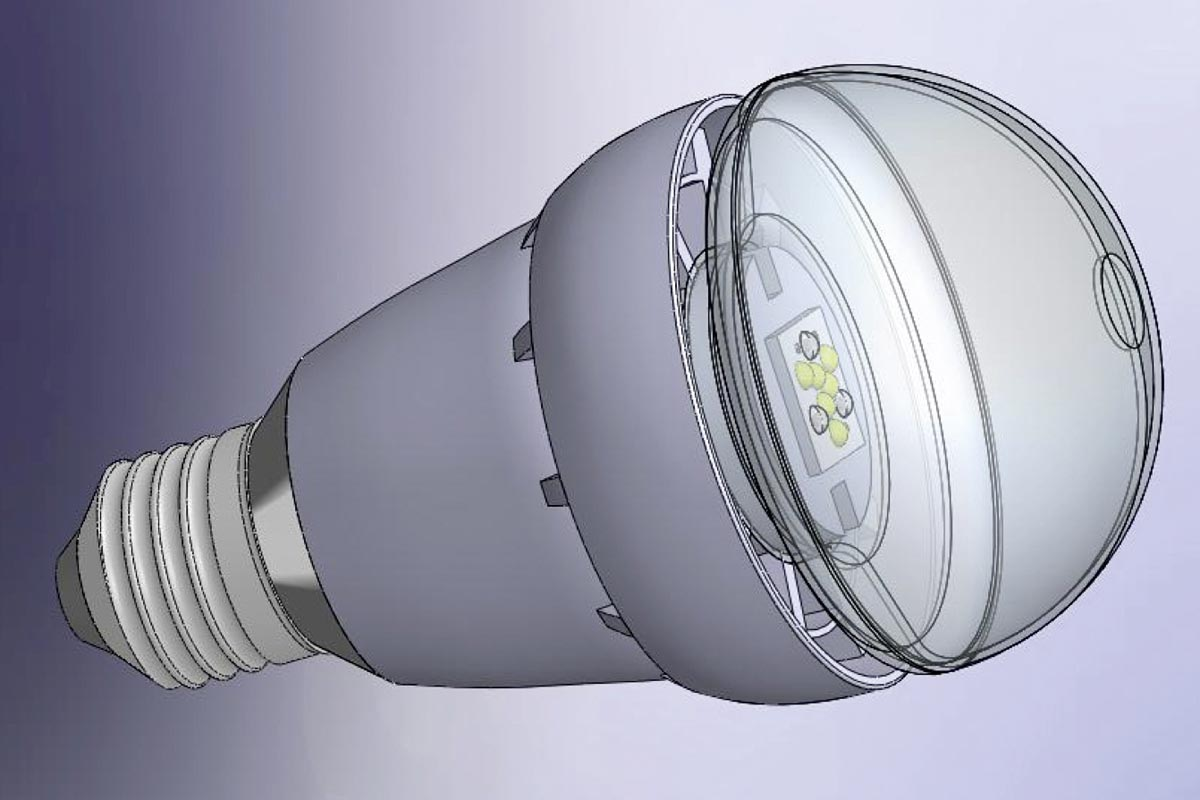 Future LED Bulb, Source: LEDON