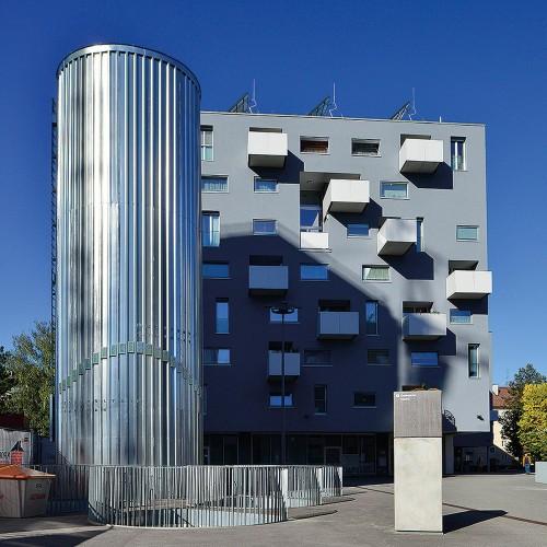 Stadtwerk Lehen, Foto: Fotohof © Andrew Phelps, Quelle: SIR
