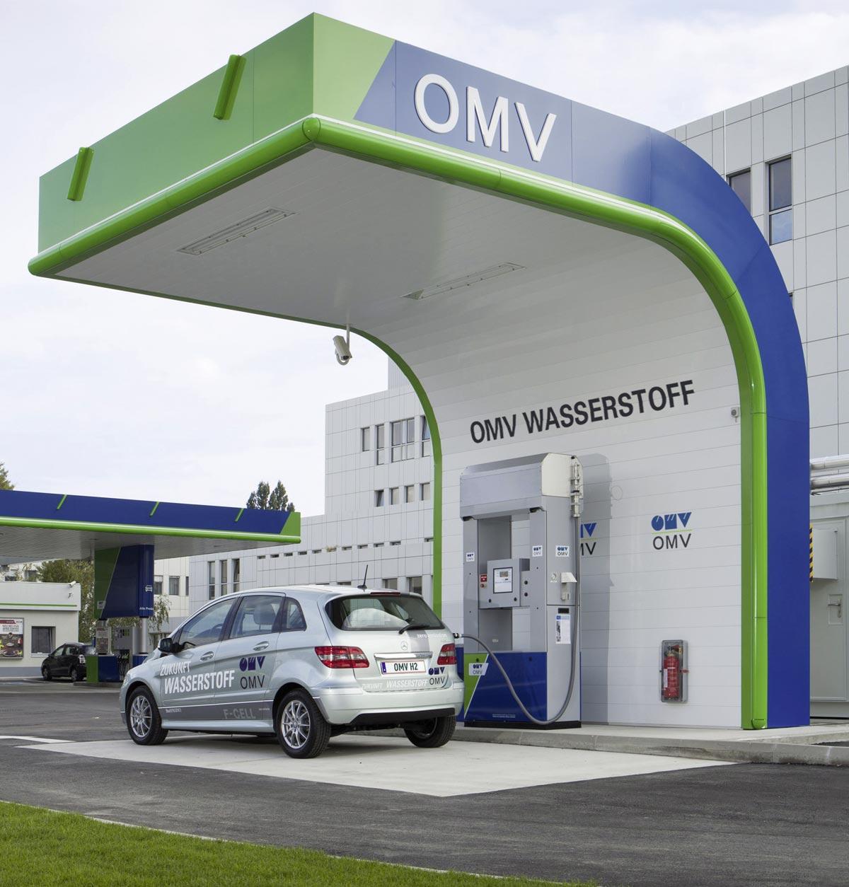 Wasserstofftankstelle, Foto: OMV