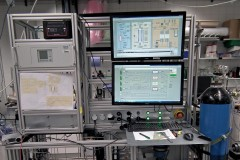 HylyPure test facility at the Vienna University of Technology, Photo: IVT TU Vienna