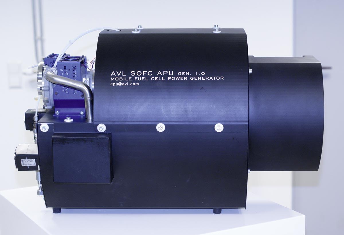 SOFC APU System, Foto: AVL