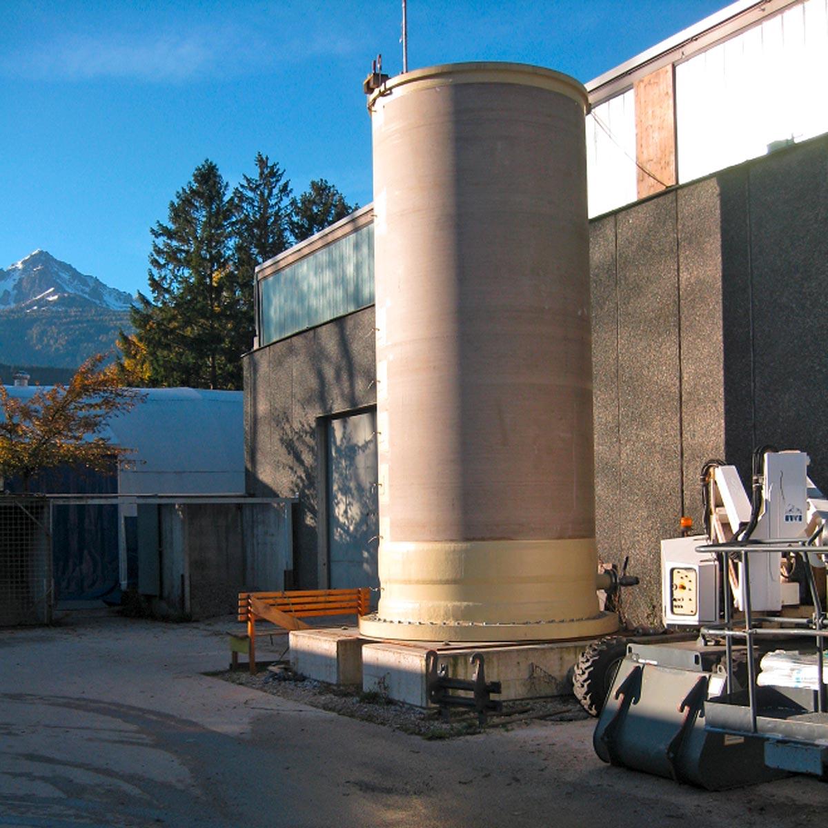 Powertower Modellversuch, Foto: Universität Innsbruck