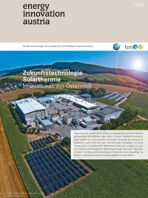 energy innovation austria - Cover 1/2016
