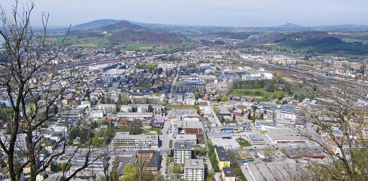 Salzburg district Schallmoos, Photo; SIR