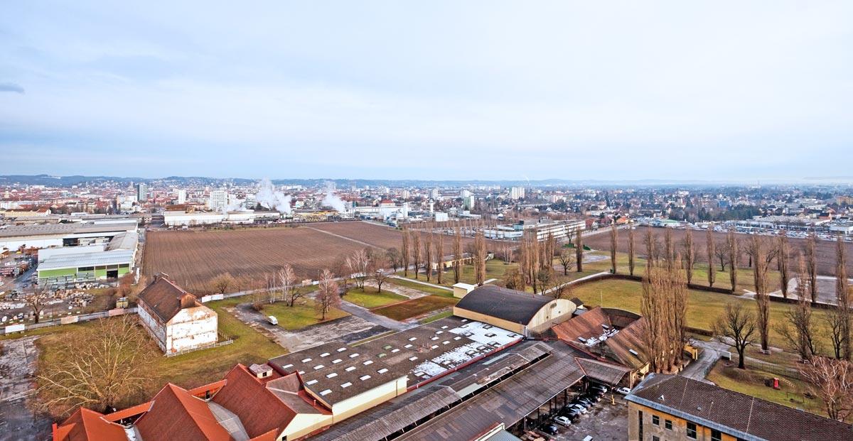 Stadtentwicklungsgebiet Graz-Reininghaus, Foto: Martin Grabner