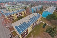 Die Stadt als Kraftwerk – PV-Anlage der Wien Süd in 1230 Wien, Foto: Wien Süd