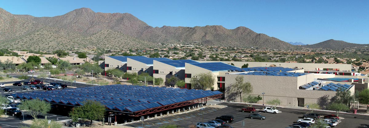 Desert Mountain Highschool, Scottsdale/Arizona, Photo: S.O.L.I.D. Gmbh
