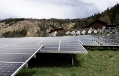 PV modules in the Alps/Obervellach, Photo: ENcome Energy Performance GmbH