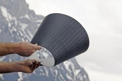 simpliCIS flexible Dünnschichtsolarzellen, Foto: Klima- und Energiefonds/Ringhofer