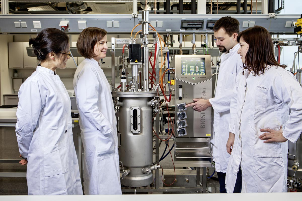 "Degree course ""Industrial Biotechnology"", Photo: University of Applied Sciences, Biberach"