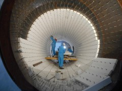 Feuerfestausmauerung der Abluftleitung, Foto: voestalpine Stahl GmbH