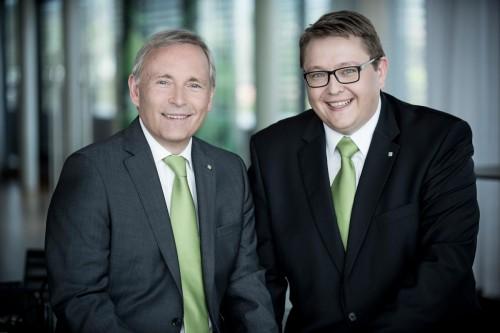 DI Christian Purrer und DI(FH) Mag.(FH) Martin Graf, MBA, Vorstand der Energie Steiermark  Foto: Energie Steiermark / Christian Jungwirth