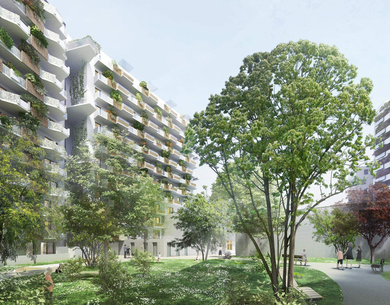 Biotope City, Architektur: RLP Rüdiger Lainer & Partner, Rendering: schreinerkastler