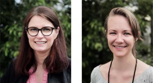 DI Susanne Formanek und DI Vera Enzi, Fotos: GRÜNSTATTGRAU