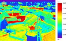 Aufnahmen Wärmebildkamera Leibnitz, Messungen StadtLABOR Graz, Dr. Hans Schnitzer