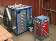 TOREtech hot test stand, photo: Wienerberger AG