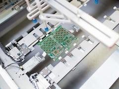 Hightech-Produktion von Leiterplatten, Foto: AT&S
