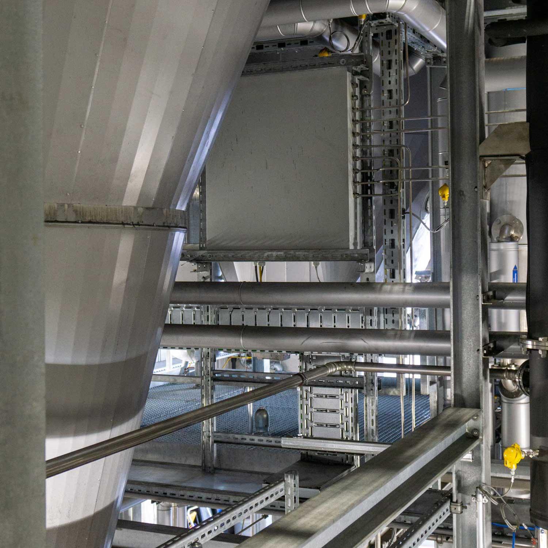 Holzgas-KWK-Anlage, Foto: BEST / Lagler