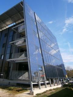 Plus-Energie-Sanierung Kapfenberg, Foto: AEE INTEC