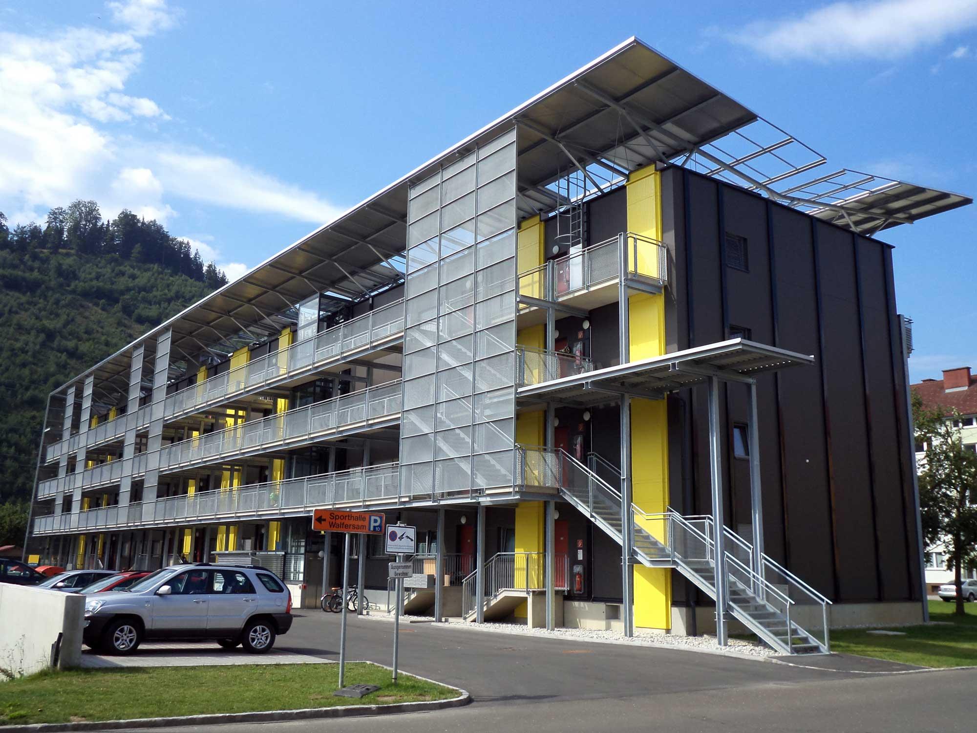 Plus-Energie-Sanierung Kapfenberg, Foto: AEE INTEC/Armin Knotzer