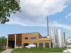Heating plant at Neusiedl am See, Photo: Projektfabrik Waldhör KG