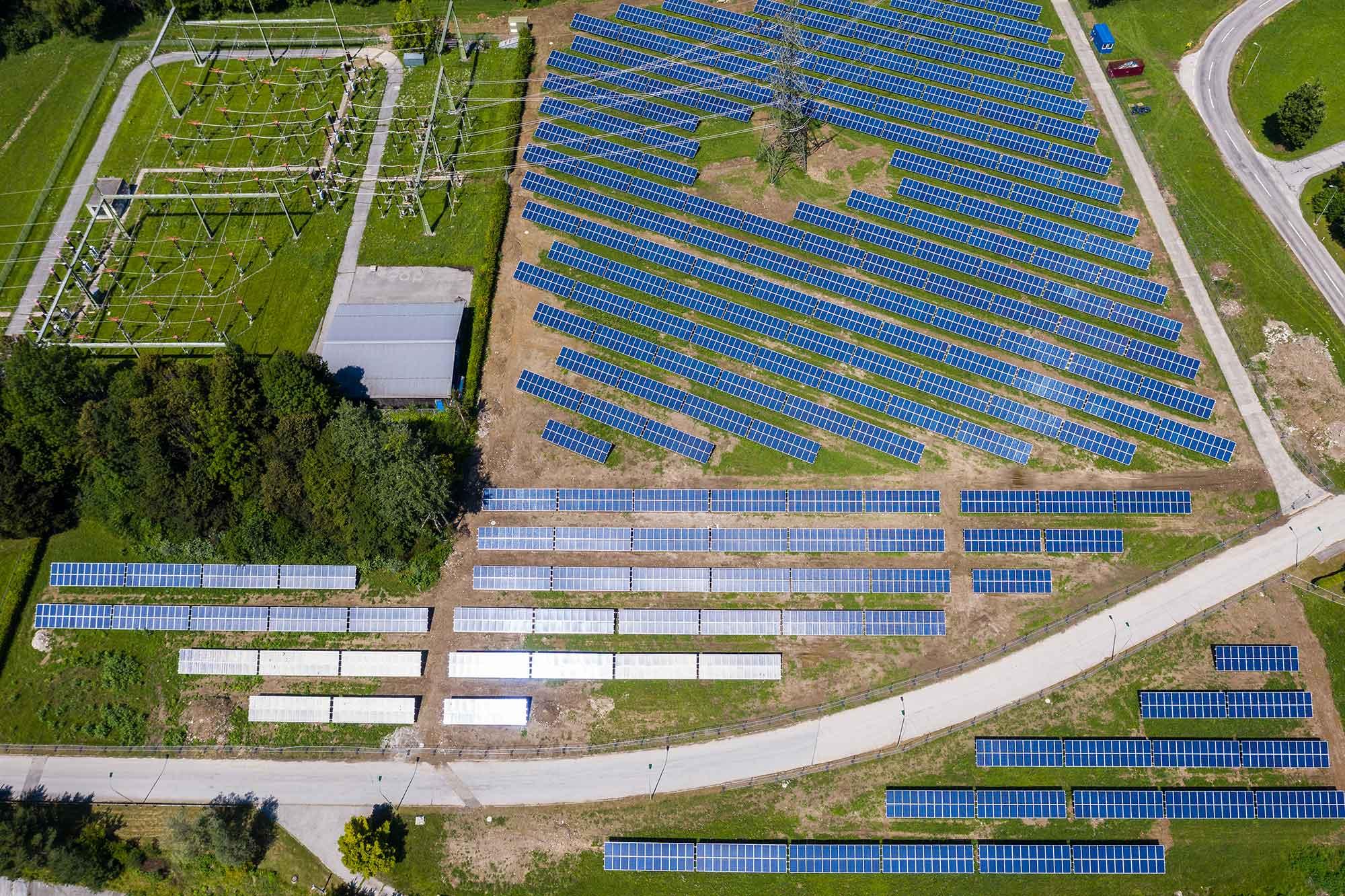 PV facility in Feistritz, photo: VERBUND AG